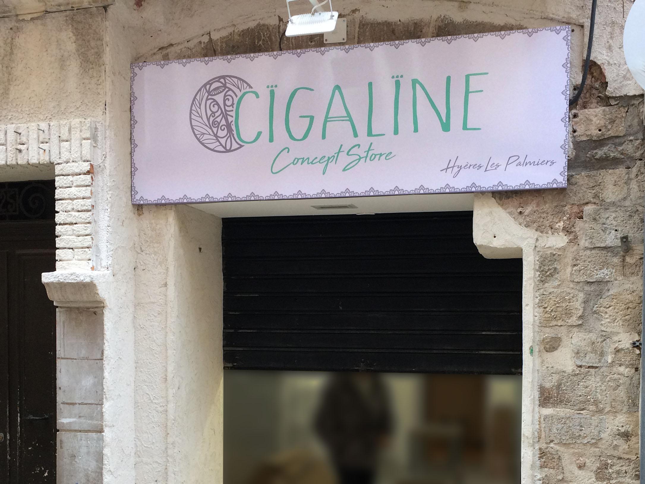Enseigne Cigaline