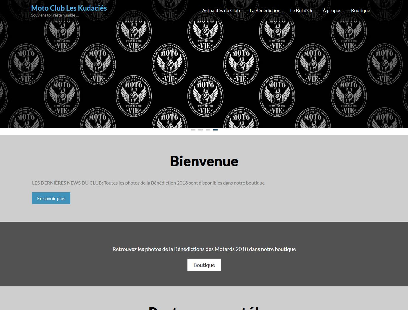 Site web MC Les Kudaciés